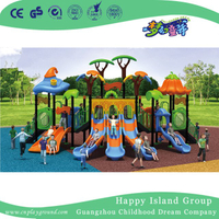 Outdoor Cartoon Vegetable Roof Playground Equipment for Children (HG-9201)
