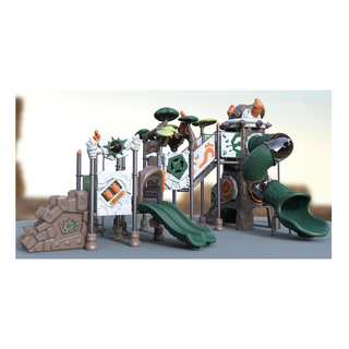 Outdoor Middle Children Steel Playground Equipment (HJ-10301)