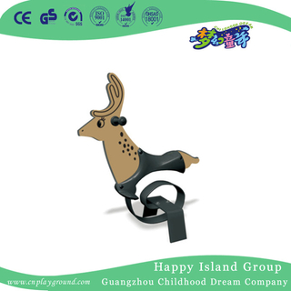 Outdoor Animal Feature PE Board Rocking Ride Equipment For Kids (HJ-20407)
