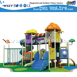 High tower Animal Roof Combination Sevilla School Galvanized Steel Playground Equipment(M11-00502)