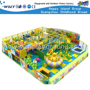 School Lovely Kids Cartoon Indoor Playground Equipment (MH-05601)