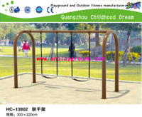 Swing and slide ,factory discount swing ,outdoor slide and swing , 2013 new swing and slide , cheaper plastic swing , Chinese environment protection slide ,animal cartoon swing