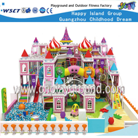 Amusement Park Middle Size Castle Indoor Playground Equipment (HE-06902)