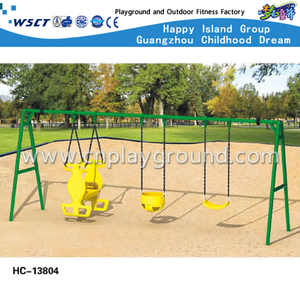 Amusement Parks Simple Toddler Swing Set For Sale (HC-13804)