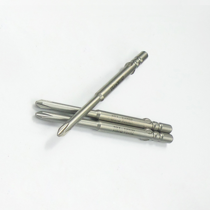 Philip 1# Dia.3 Round shank Corss screwdriver bits 60MM length