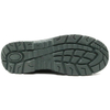 Slip resistant lightweight metal free composite toe safety shoes work