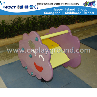 M11-11217 Flower cartoon rocking ride with gears
