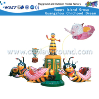 A-11301 Bees Electric Carousel Amusement Park Games