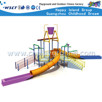 Outdoor Water Parks Slide Equipment For kids Play(HD-6701)