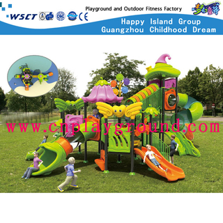 New Large High Slide Outdoor School Vegetable Series Playground Equipment (HC-5502)