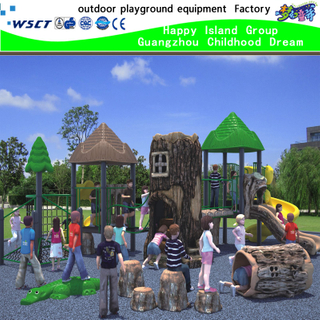 Hot Sale Outdoor Jungle Playground Equipment on Stock (HK-50005)