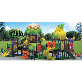 Outdoor Middle Fresh Vegetable Slide Playground for Children Play (HJ-11102)