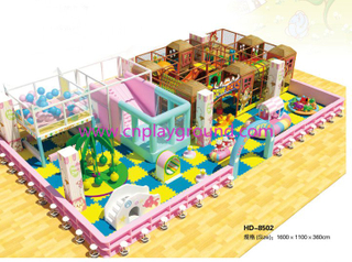 Middle Indoor Playground Equipment for Soft Play (HD-08502)