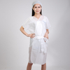 Disposable Nonwoven Kimono without sleeve