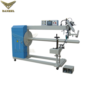 DANREL Sprial PVC Reinforced Flexible Ducting Making Machine Hot Air Welding Machine for Ventilation & Hose & Tubing