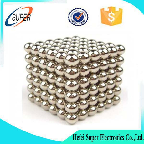 216 PCS Strong Block For the ball Magnets Rare Earth Neodymium SILVER Toy 5mm