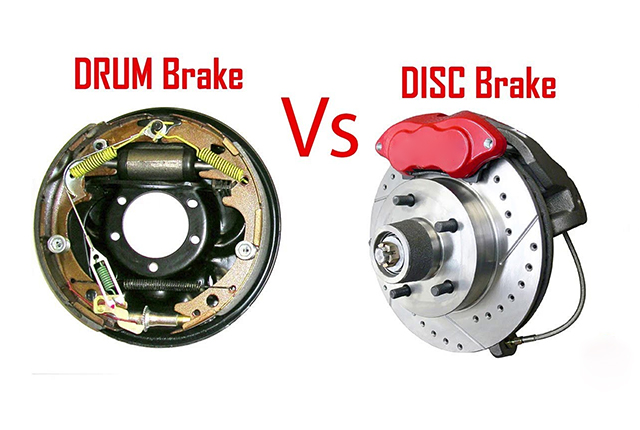What are differences between Disc Brake and Drum Brake?