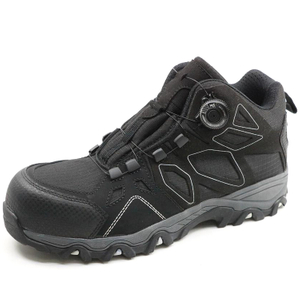China Cemented Eva And Rubber Sole Light Composite Toe Safety Shoes Work