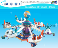 Guangzhou factory provides cheap airplane 12 seats carousel)