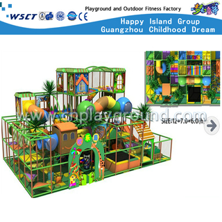 Kids Adventure Small Forest Indoor Playgrounds (H13-0509)