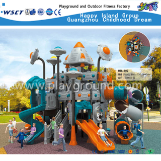 Outdoor Large Design Transformers Children Robot Galvanized Steel Playground for Kids (HD-702)