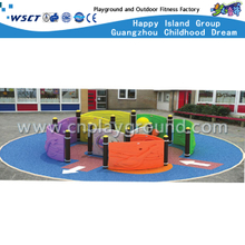 Outdoor Plastic Climbing Wall Equipment for Backyard (A-17201)