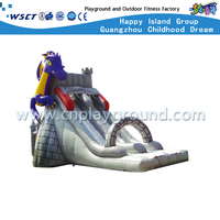 Outdoor Cartoon Dragon Inflatable Slide for Residential Area (HD-9603)