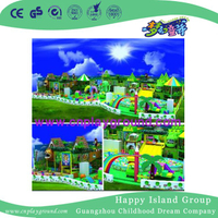 Indoor Large Children Soft Playground for Amusement Park (H14-Green)