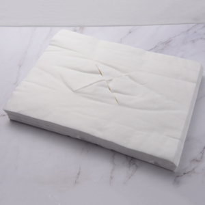 Disposable non-woven face rest pillow cover X style