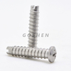 Stainless Steel PHILLPS Head Slotted End Self Tapping Screw
