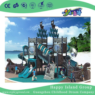 High Quality Large Outdoor Children Pirate Ship Playground for Amusement Park (HK-50052A)