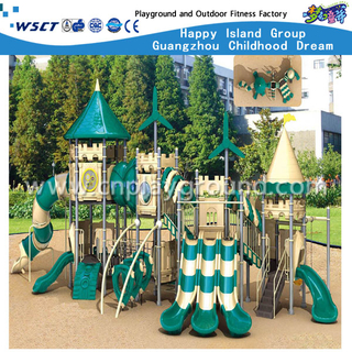 Large Outdoor Children Castle Galvanized Steel Playground(HA-06001)