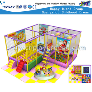 Small Lovely Cartoon Indoor Playground For Sale (M11-C0018)
