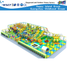 High Quality Indoor Playground Plastic Slide Equipment(M11-C007)