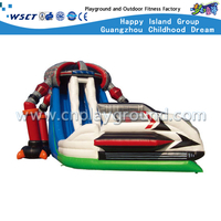 Outdoor Robot Series Inflatable Slide for Amusement Park (HD-9403)