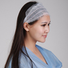 Disposable Nonwoven hairband with 4 elastics