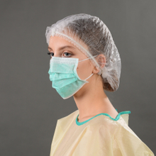 Disposable Nonwoven 3-ply Earloop Face Mask