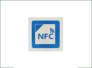 Ntag216 NFC Tag Sticker with 3m Adhesive for Assets Management