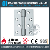 Stainless Steel 3 Knuckle Double Washer Hinge for Interior Office Door-DDSS073