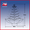 (18030U075-GW) Hot Sell 29.5 Inch (75cm) Snowing Christmas Tree