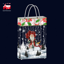 Hot Sale Creative Fashion Handbag Christmas Ornaments Supplier Santa Claus Snow Home Festival Deorations