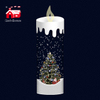 2020 new products holiday gifts home decor snowing candle for family members
