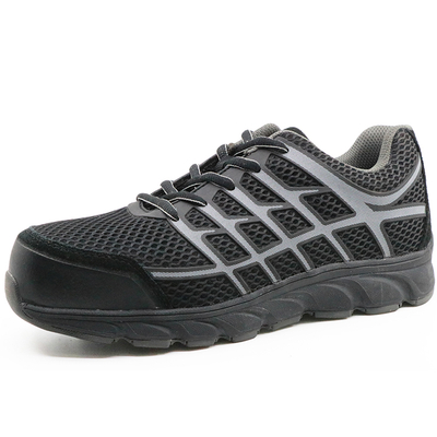 China Oil Resistant Black Composite Toe Work Shoes Safety for Labor