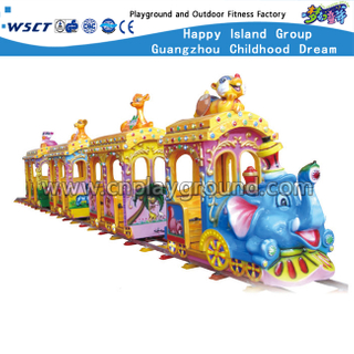 Outdoor Luxury Mini Electric Railway Train For Kids Play(HD-10301)