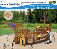 Wooden Multifunctional Ship Family Playground for Children Play (HF-16902)