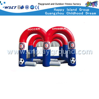 """M"" Letter Design Outdoor Children Soccer Dribble Training Inflatable Sport Game (Hd-10005)"