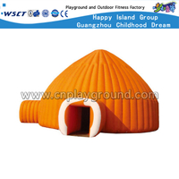 High Quality Outdoor Yellow Inflatable Tents for Kids (HD-9701)