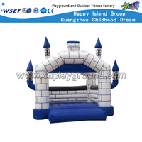 Outdoor Kids Play Robot Inflatable Castle for Backyard (HD-9807)