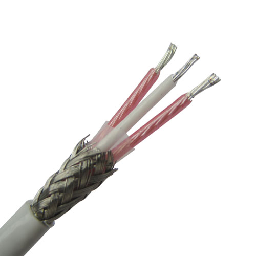 Teflon insulated RTD Cable with Stainless steel shield