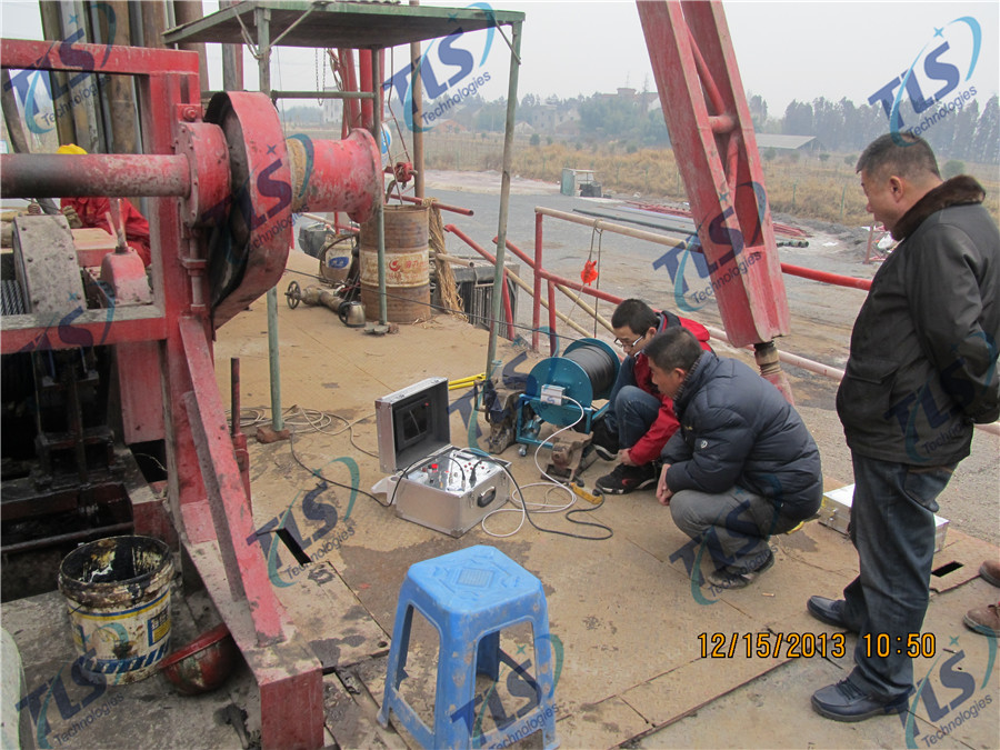 TLS Technologies Borehole Inspection Camera Application Case-Tongxiang Zhejiang logging field-04